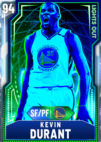 Kevin Durant diamond card