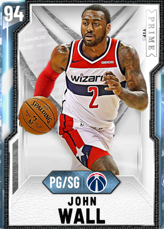 John Wall diamond card