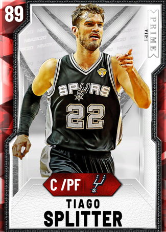'14 Tiago Splitter ruby card