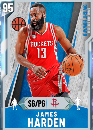 James Harden diamond card