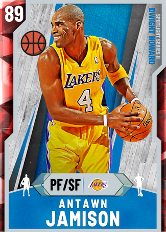 '06 Antawn Jamison ruby card