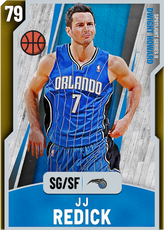JJ Redick gold card