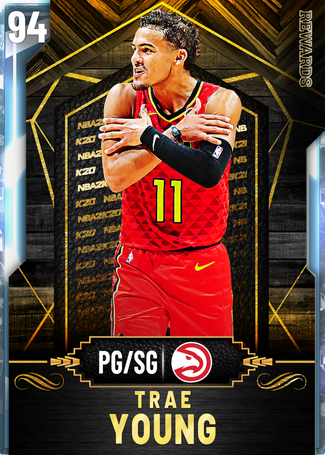 Trae Young diamond card