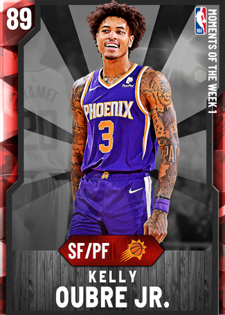 Kelly Oubre Jr. ruby card