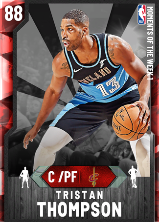 Tristan Thompson ruby card