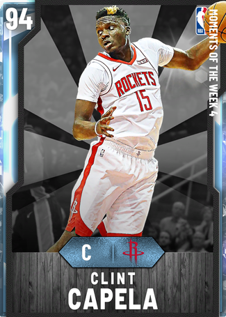 Clint Capela diamond card