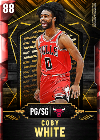 Coby White ruby card