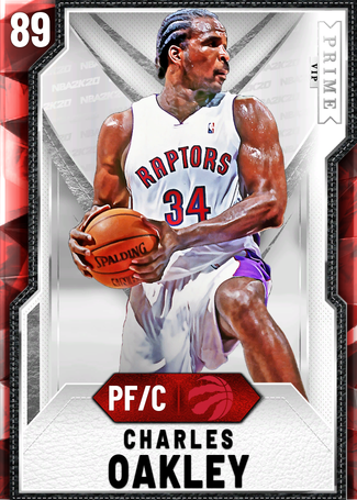 '04 Charles Oakley ruby card