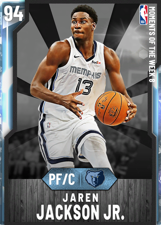 Jaren Jackson Jr. diamond card