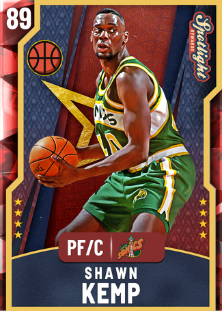 '03 Shawn Kemp ruby card
