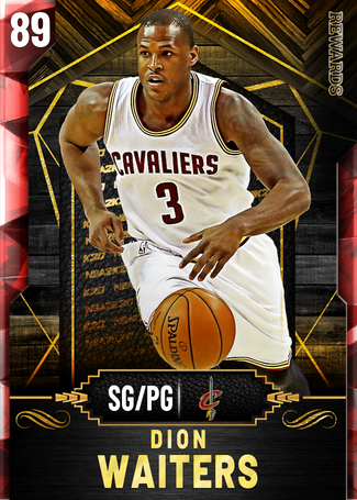 Dion Waiters ruby card