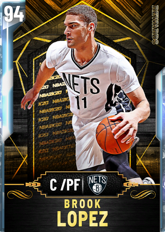 Brook Lopez diamond card