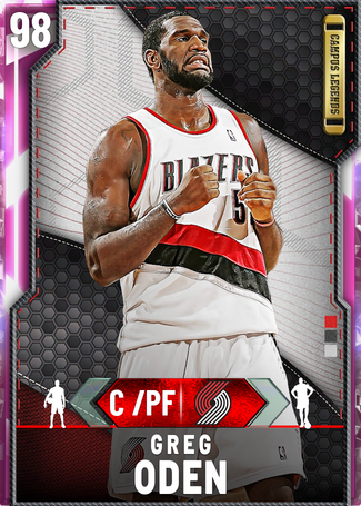 Greg Oden pinkdiamond card