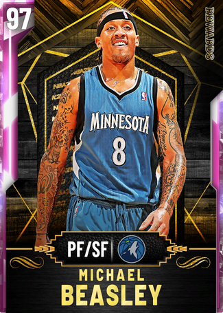 '08 Michael Beasley pinkdiamond card