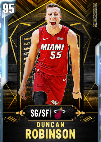 Duncan Robinson diamond card