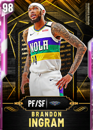 Brandon Ingram pinkdiamond card