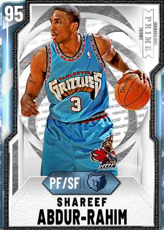 '02 Shareef Abdur-Rahim diamond card