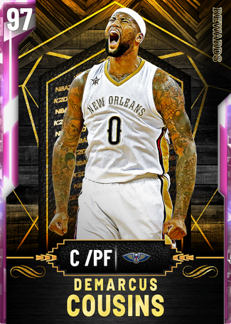 DeMarcus Cousins pinkdiamond card