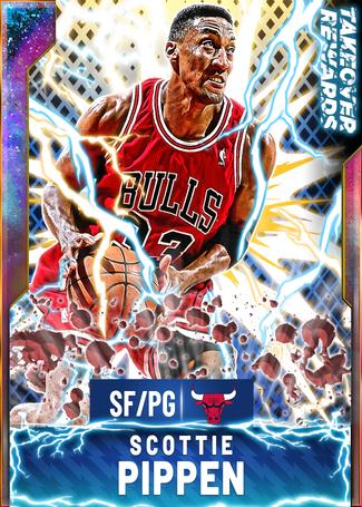 '95 Scottie Pippen opal card