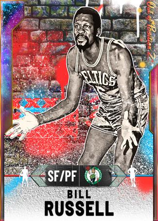 '65 Bill Russell opal card