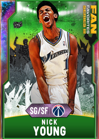 '10 Nick Young opal card