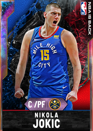 Nikola Jokic opal card