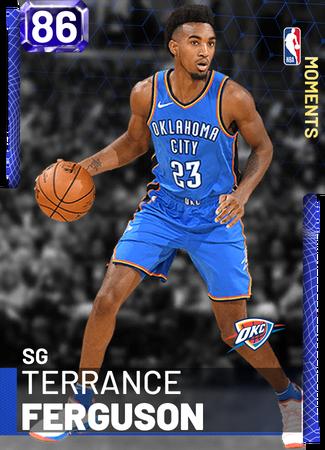 Terrance Ferguson - NBA 2K19 Custom Card - 2KMTCentral