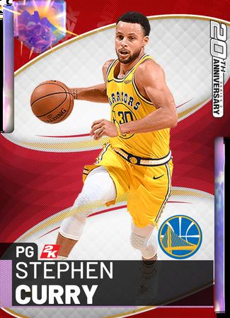 Stephen Curry - NBA 2K19 Custom Card - 2KMTCentral