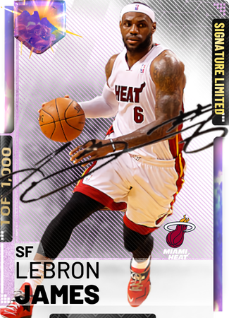 LeBron James - NBA 2K19 Custom Card - 2KMTCentral