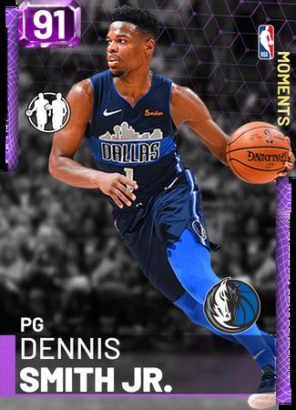 Dennis Smith Jr  - NBA 2K19 Custom Card - 2KMTCentral