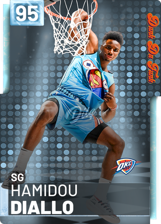 Hamidou Diallo - NBA 2K19 Custom Card - 2KMTCentral