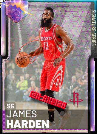 James Signature Harden - NBA 2K19 Custom Card - 2KMTCentral