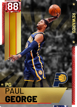 6cbbe534053 Paul George - NBA 2K19 Custom Card - 2KMTCentral