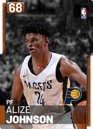 size 40 d9a27 be258 Alize Johnson - NBA 2K19 Custom Card - 2KMTCentral