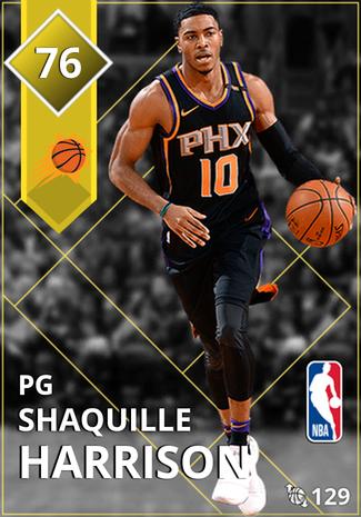 newest 5b192 149e3 Shaquille Harrison - NBA 2K18 Custom Card - 2KMTCentral