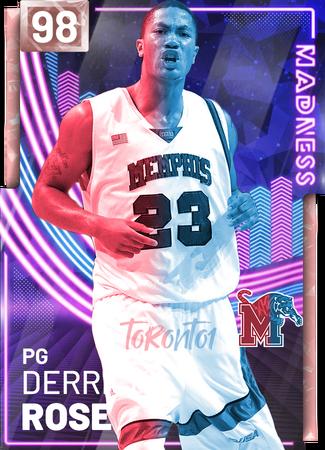 Derrick Rose - NBA 2K19 Custom Card - 2KMTCentral