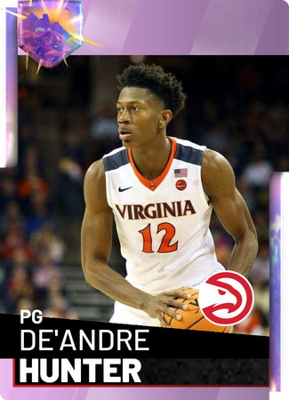 De'Andre Hunter - NBA 2K19 Custom Card - 2KMTCentral