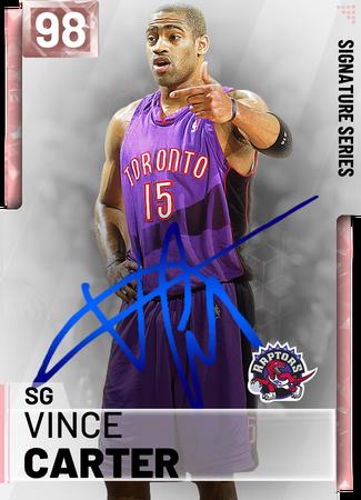 Vince Carter - NBA 2K19 Custom Card - 2KMTCentral