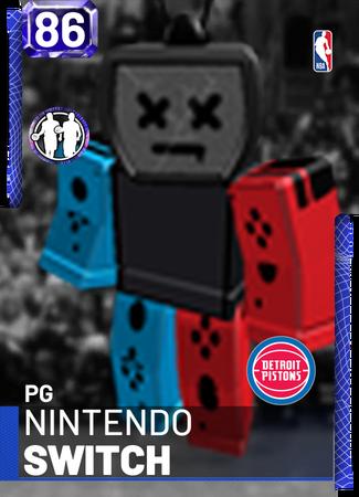 Nintendo Switch Nba 2k19 Custom Card 2kmtcentral