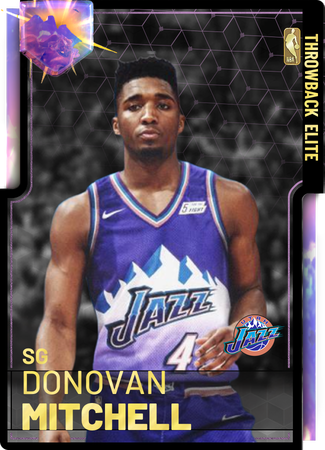 low priced 2eccd 6b9ca Donovan Mitchell - NBA 2K19 Custom Card - 2KMTCentral