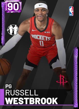 Russell Westbrook - NBA 2K19 Custom Card - 2KMTCentral