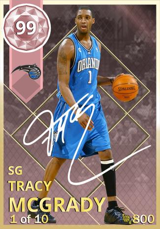 brand new c6485 547d0 Tracy McGrady - NBA 2K18 Custom Card - 2KMTCentral