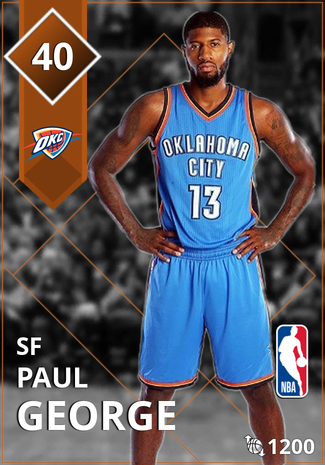 25a807a808c Paul George - NBA 2K18 Custom Card - 2KMTCentral