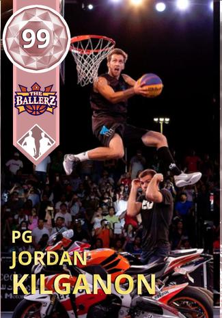 najwyższa jakość niepokonany x gorąca wyprzedaż Jordan Kilganon - NBA 2K18 Custom Card - 2KMTCentral