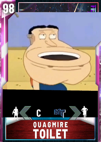 Quagmire Toilet Nba 2k20 Custom Card 2kmtcentral Glen quagmire is a character on the animated series, family guy. quagmire toilet nba 2k20 custom card