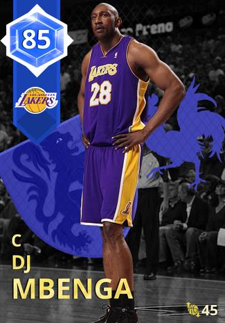 cfcfe6b56 DJ Mbenga - NBA 2K18 Custom Card - 2KMTCentral