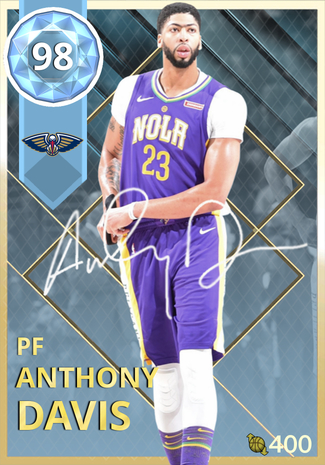 sports shoes 6f9a3 f1be2 Anthony Davis - NBA 2K18 Custom Card - 2KMTCentral