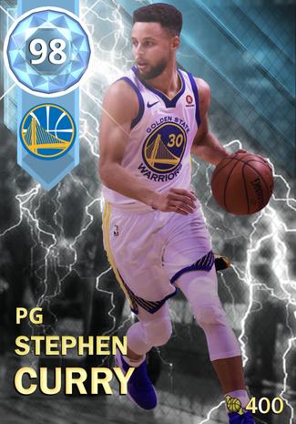 Stephen Curry - NBA 2K18 Custom Card - 2KMTCentral