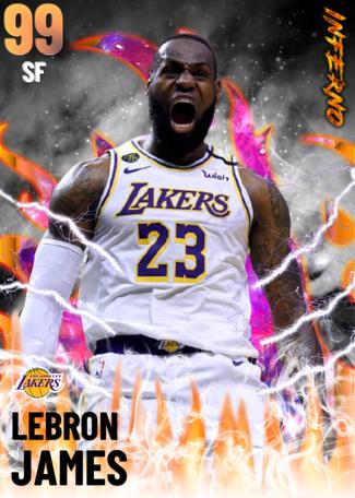 Lebron James - NBA 2K21 Custom Card - 2KMTCentral