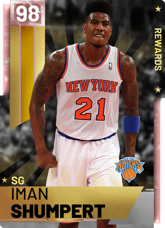 802850eccc36 Iman Shumpert - NBA 2K19 Custom Card - 2KMTCentral
